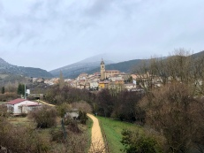 The village of Antoñana